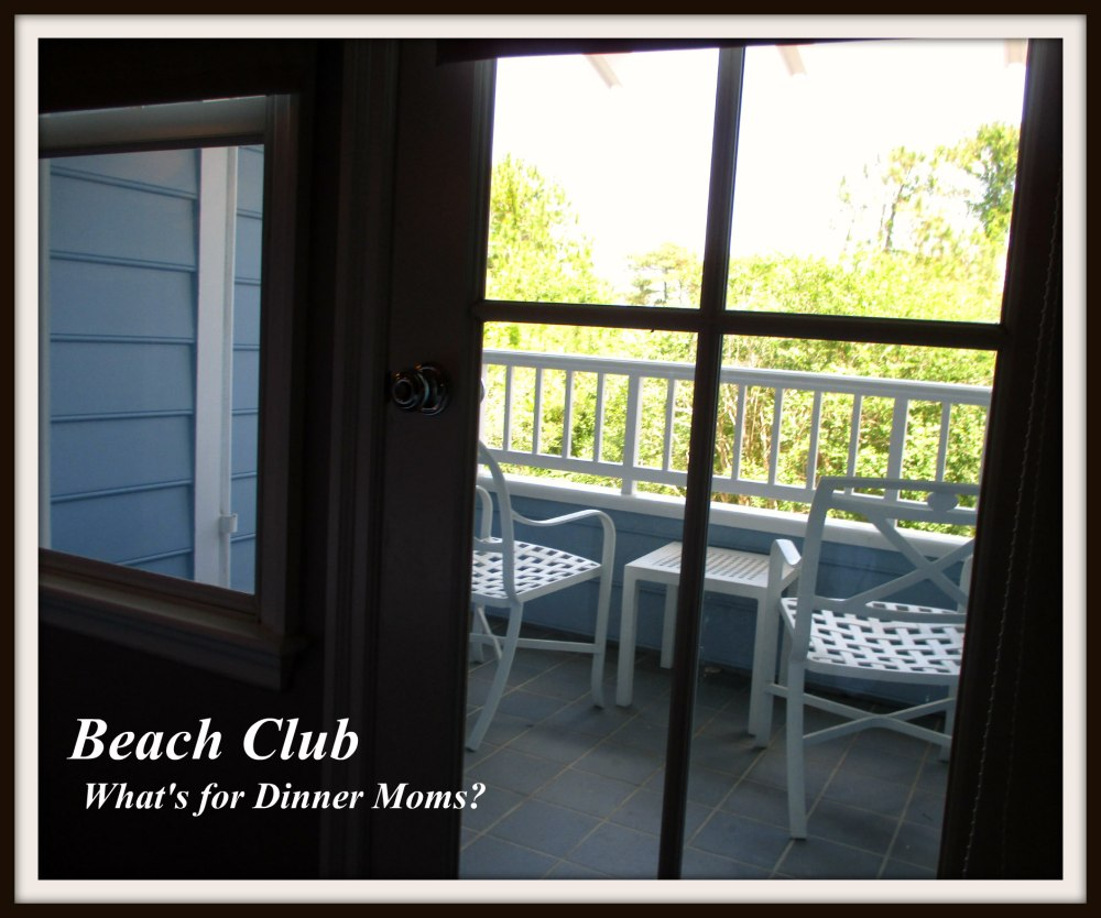 Beach Club - Balcony
