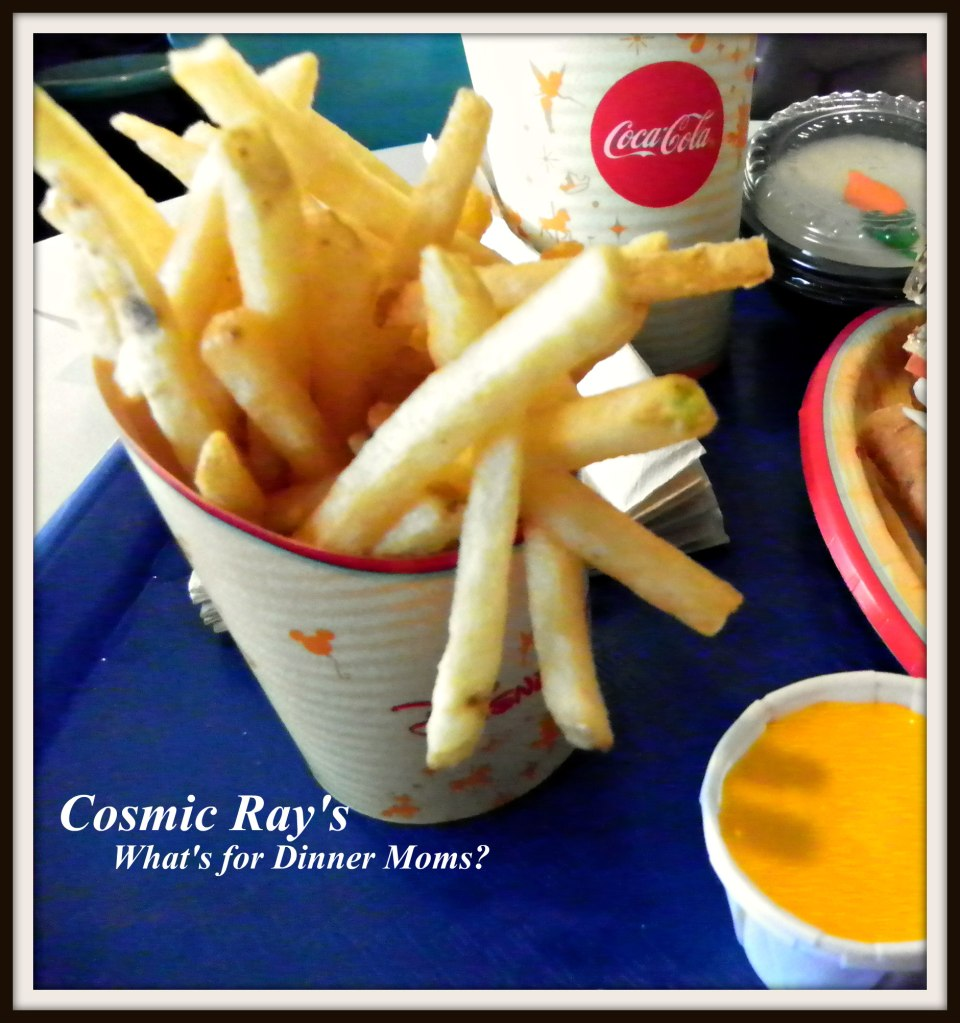 Cosmic Ray's Fries with Cheese