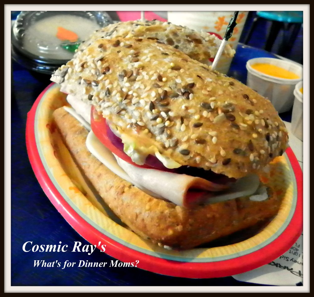 Cosmic Ray's Turkey Sandwich