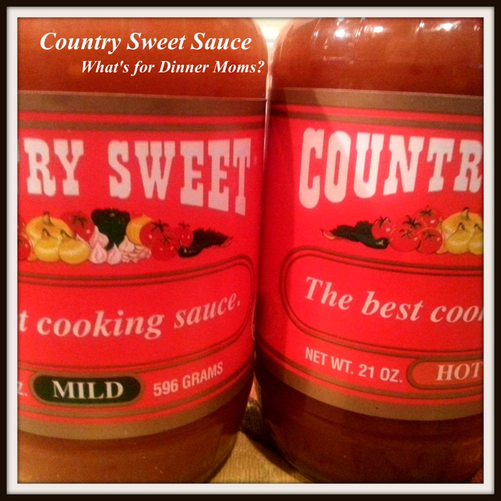 Country Sweet Sauce