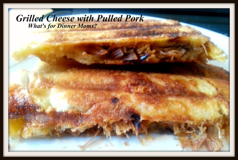 Grilled Cheese with Pulled Pork