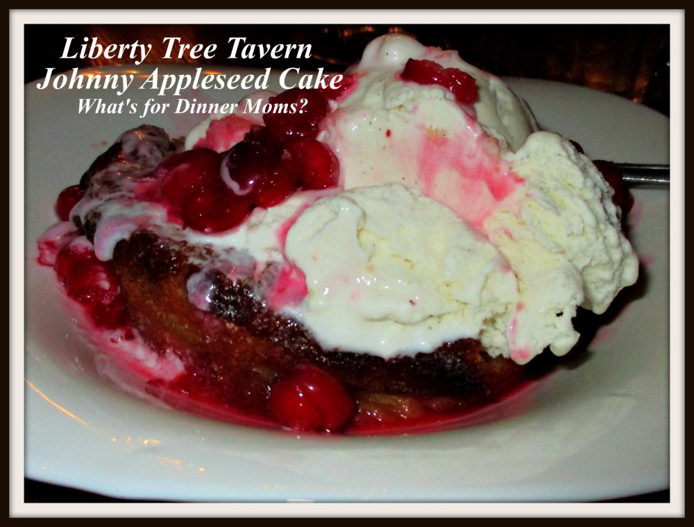 Liberty Tree Tavern Johnny Appleseed Cake
