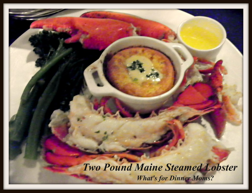 Narcoossee - 2 Pound Maine Steamed Lobster