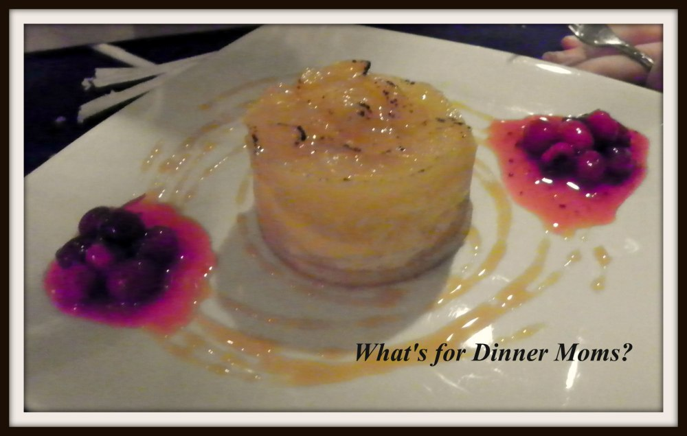 Narcoossee - Pear Tart with Cranberry Sauce