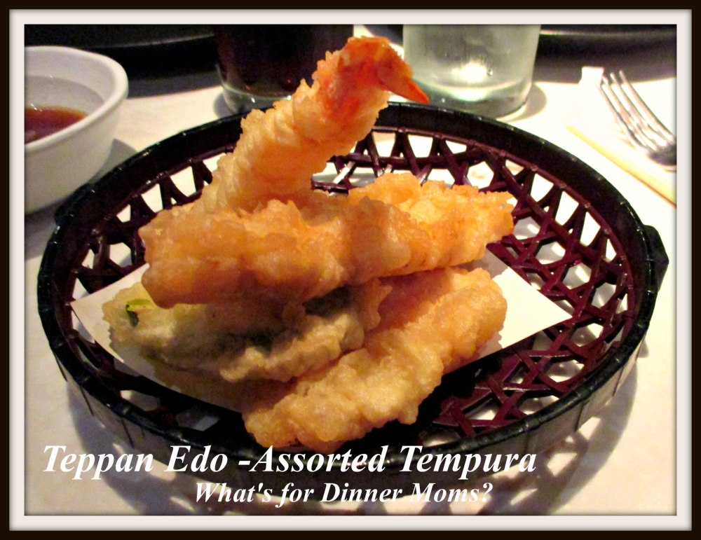 Teppan Edo - Assorted Tempura