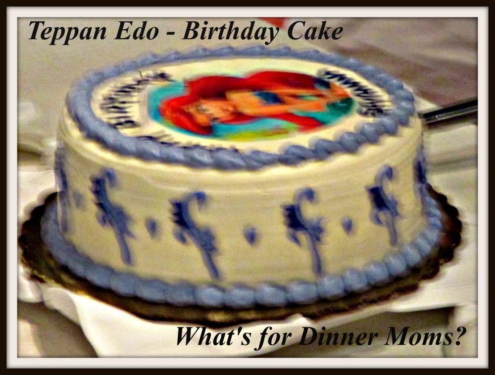 Teppan Edo - Birthday Cake