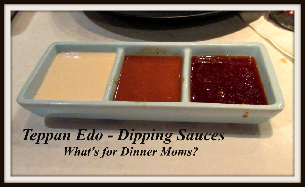 Teppan Edo - Dipping Sauces