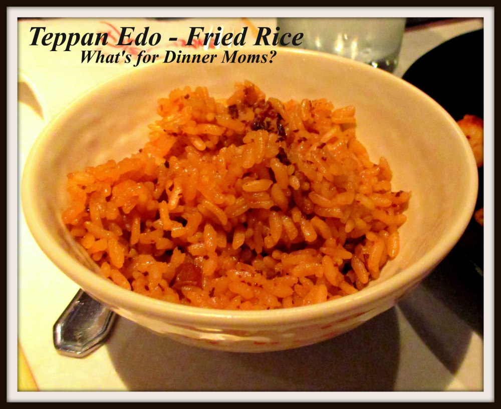 Teppan Edo - Fried Rice