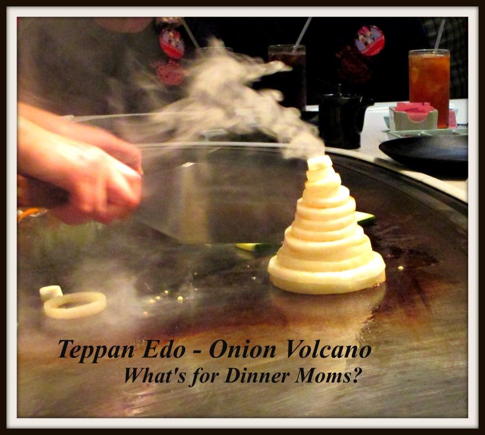 Teppan Edo - Onion Volcano