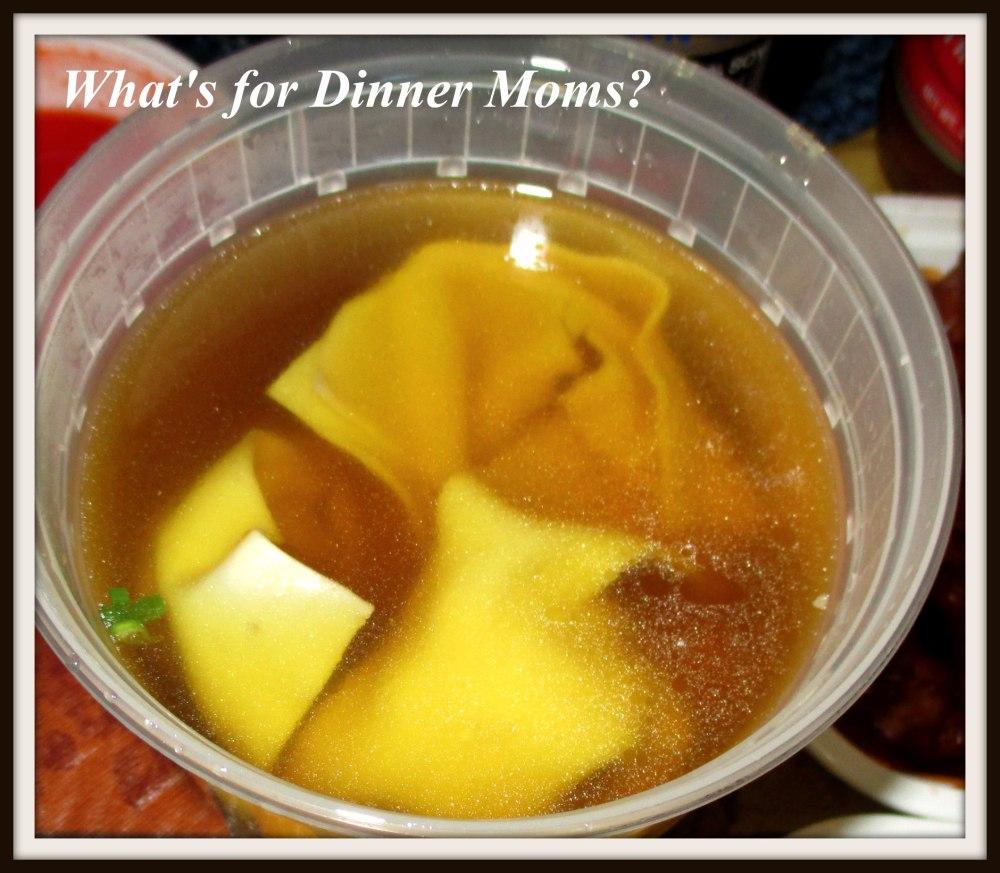 Wonton Soup - Chinese Takeout