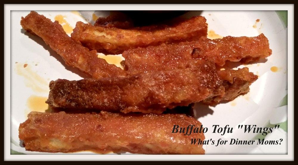 Buffalo Tofu Wings