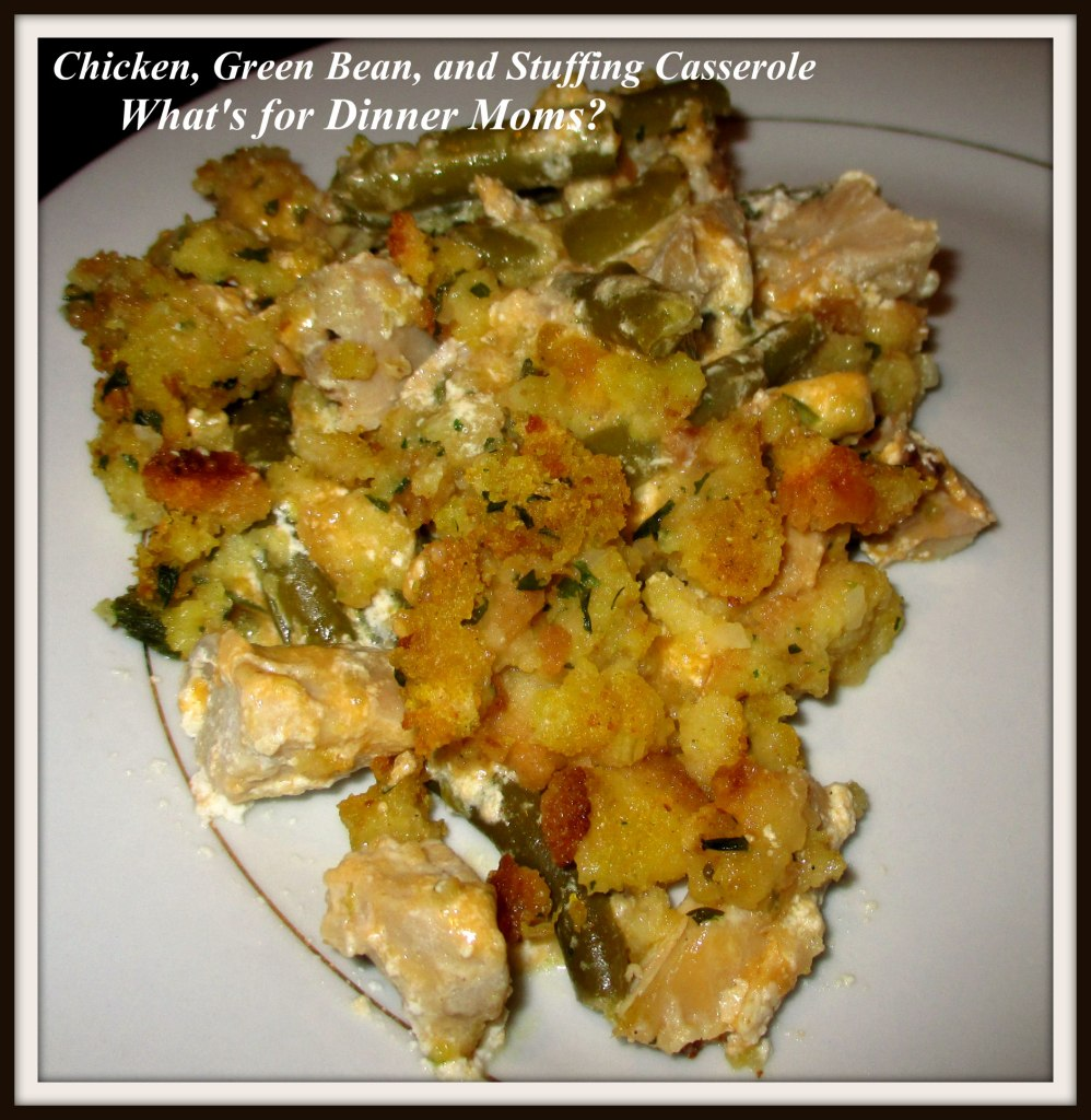 Chicken, Green Bean, and Stuffing Casserole