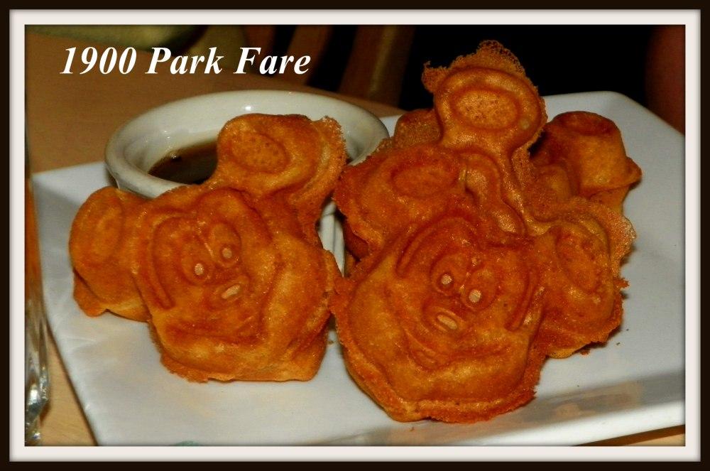 Gluten Free Mickey Waffles - 1900 Park Fare