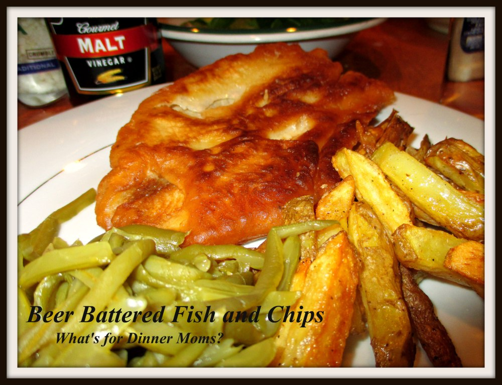Beer Battered Fish and Chips