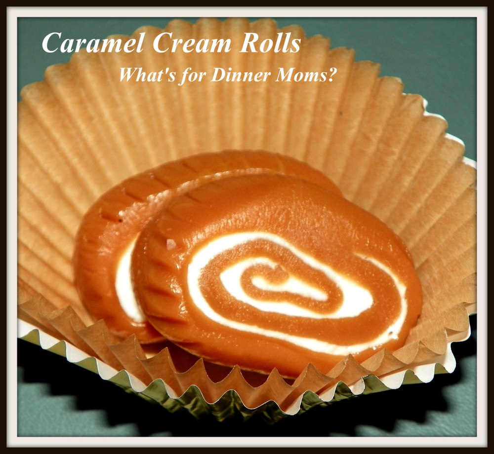 Caramel Cream Rolls