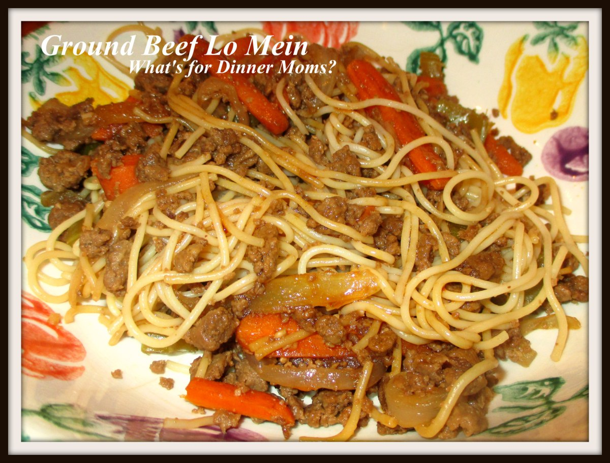 Ground Beef Lo Mein What S For Dinner Moms