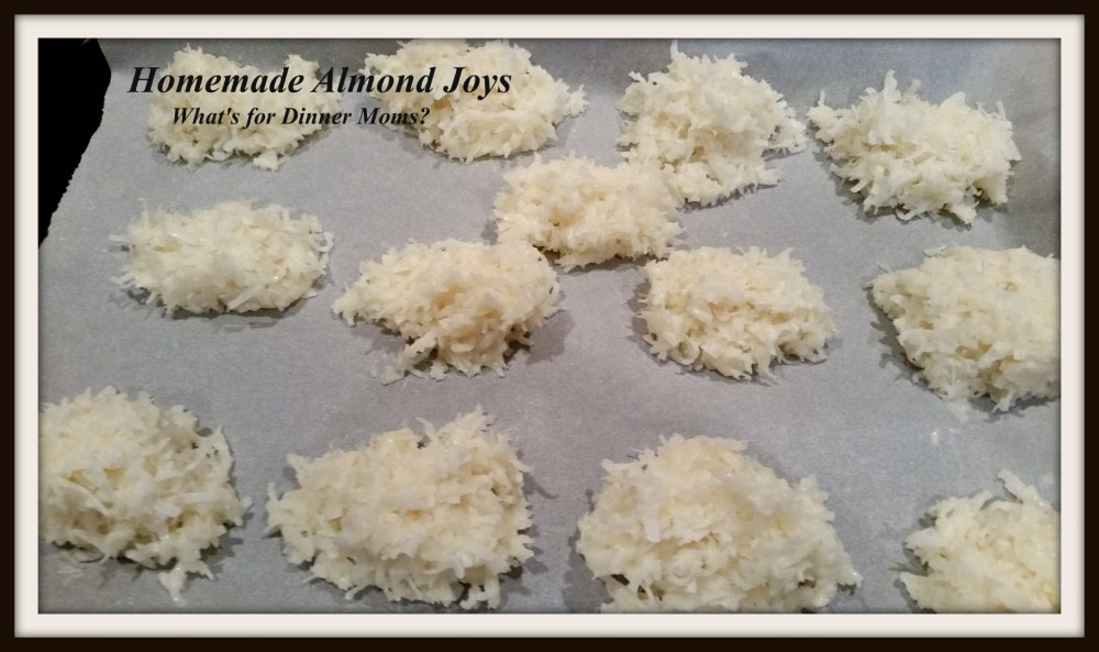 Homemade Almond Joys - 2