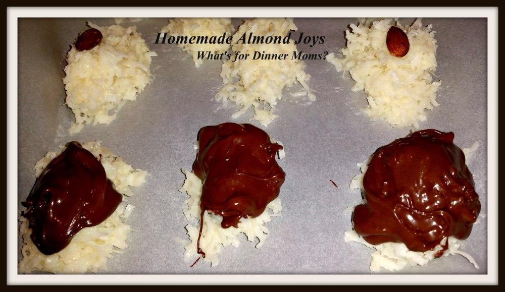 Homemade Almond Joys - 3
