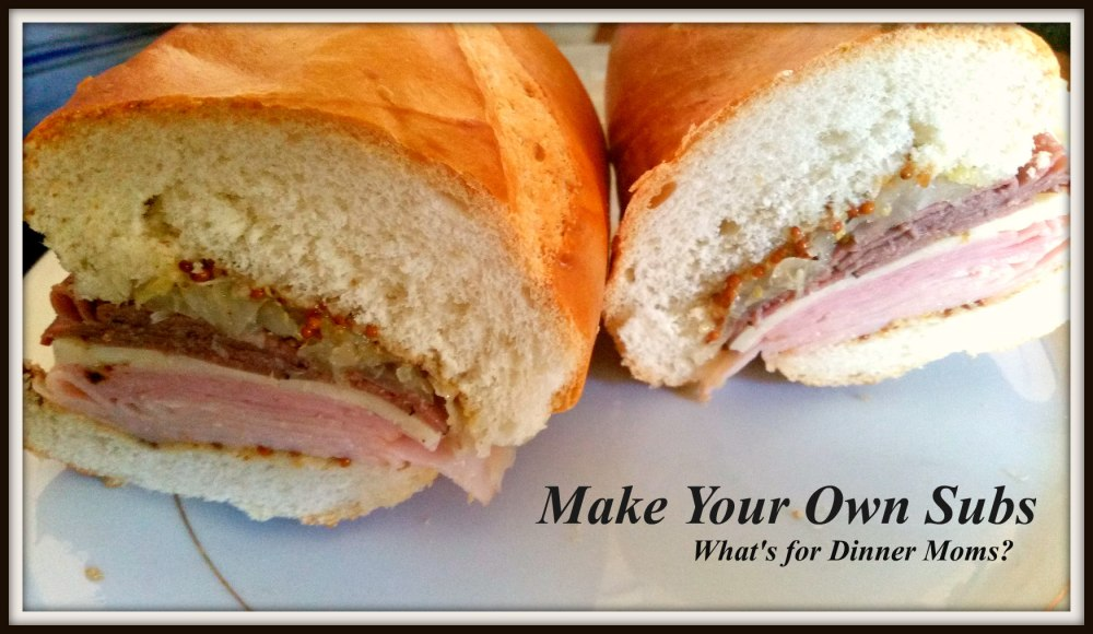 Make Your Own Subs - 2