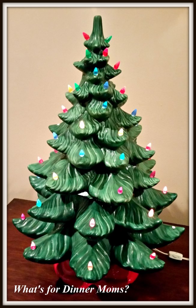 1970s Ceramic Christmas Tree