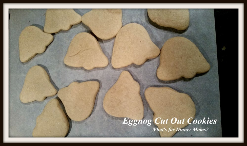 Eggnog Cut Out Cookies
