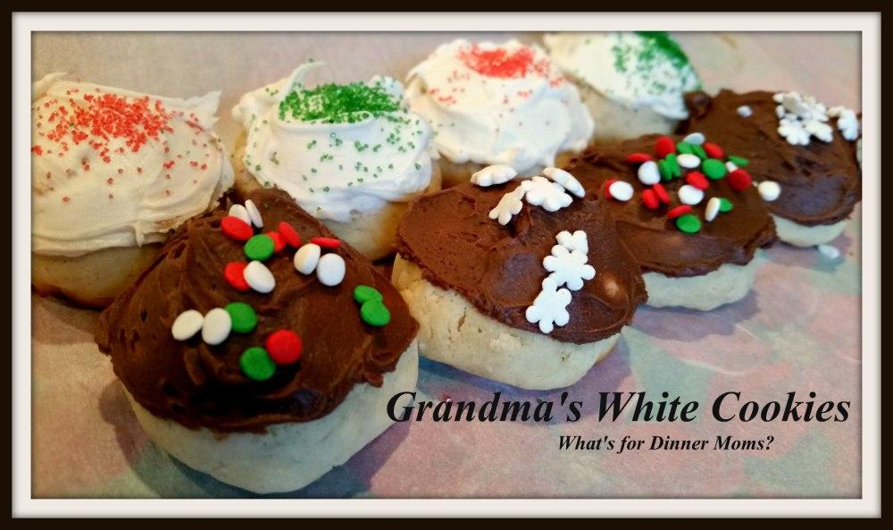 Grandma's White Cookies