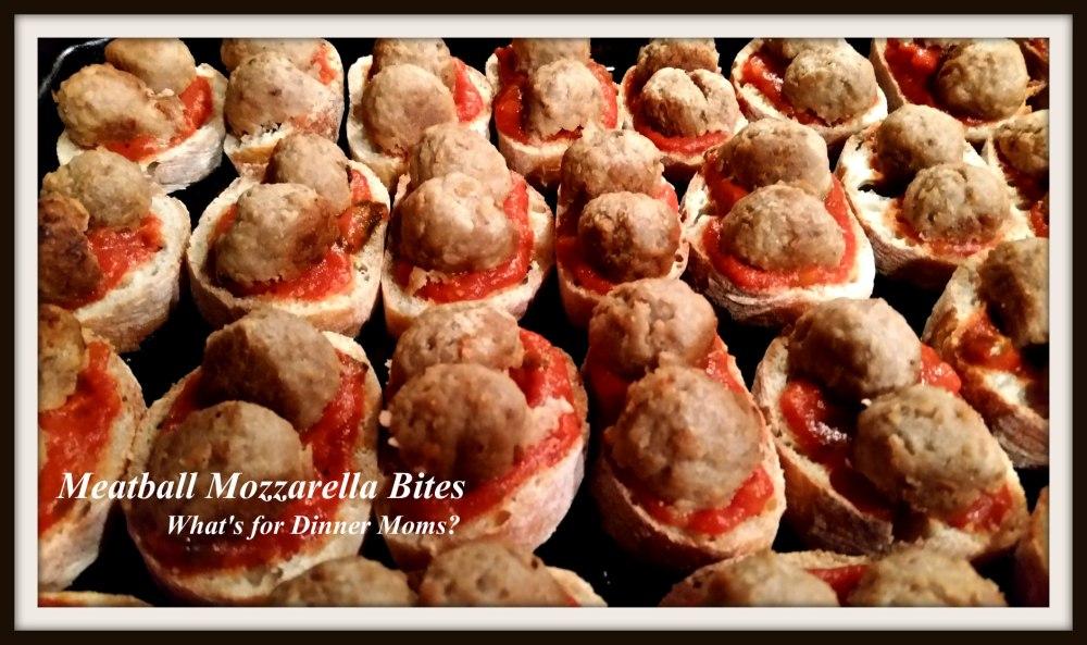 Meatball Mozzarella Bites - 1