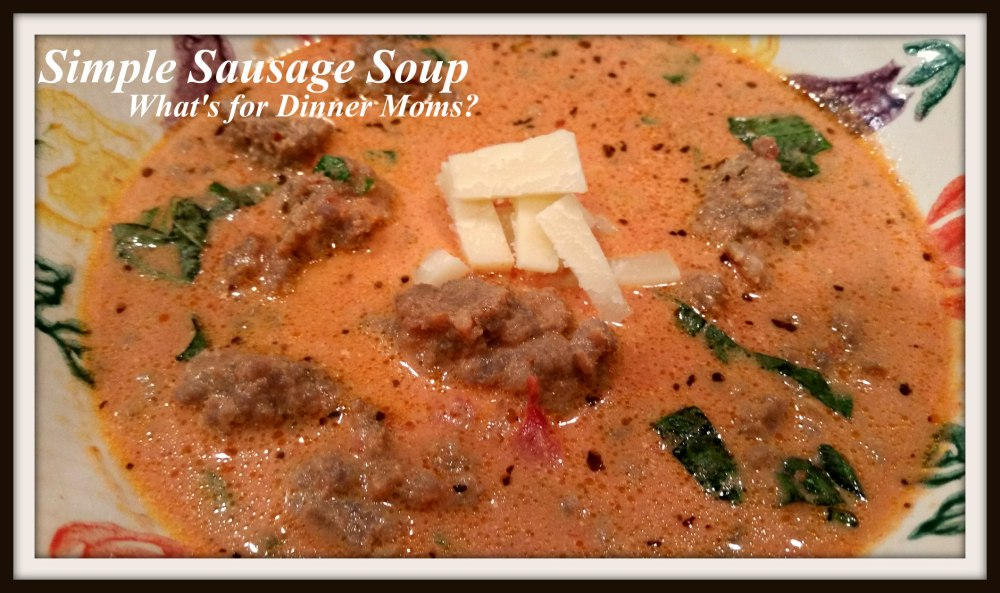 Simple Sausage Soup
