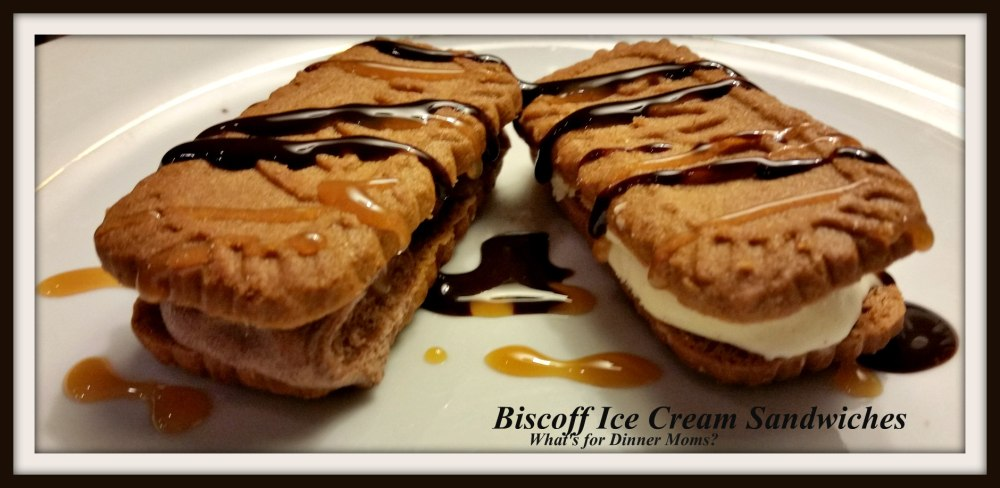 Biscoff Ice Cream Sandwiches
