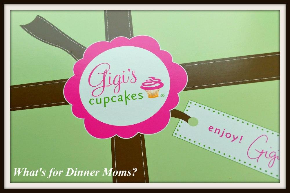 Gigis Cupcakes box