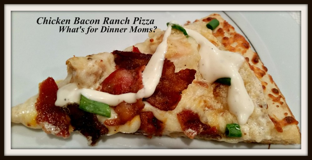 Chicken Bacon Ranch Pizza (single)