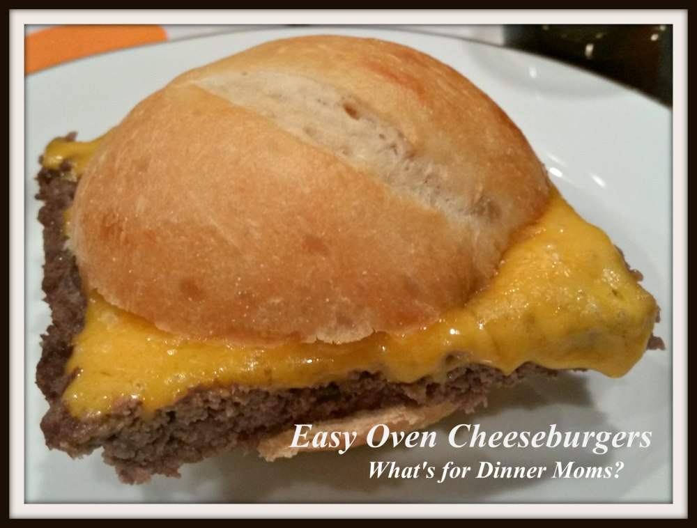 Easy Oven Cheeseburgers