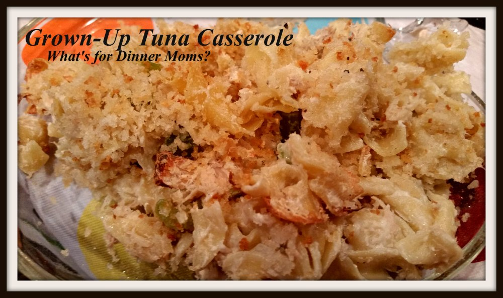 Grown-Up Tuna Casserole