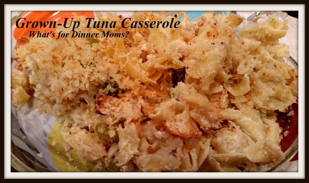 Grown-Up Tuna Casserole