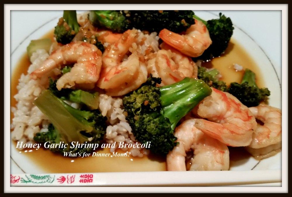 Honey Garlic Shrimp and Broccoli