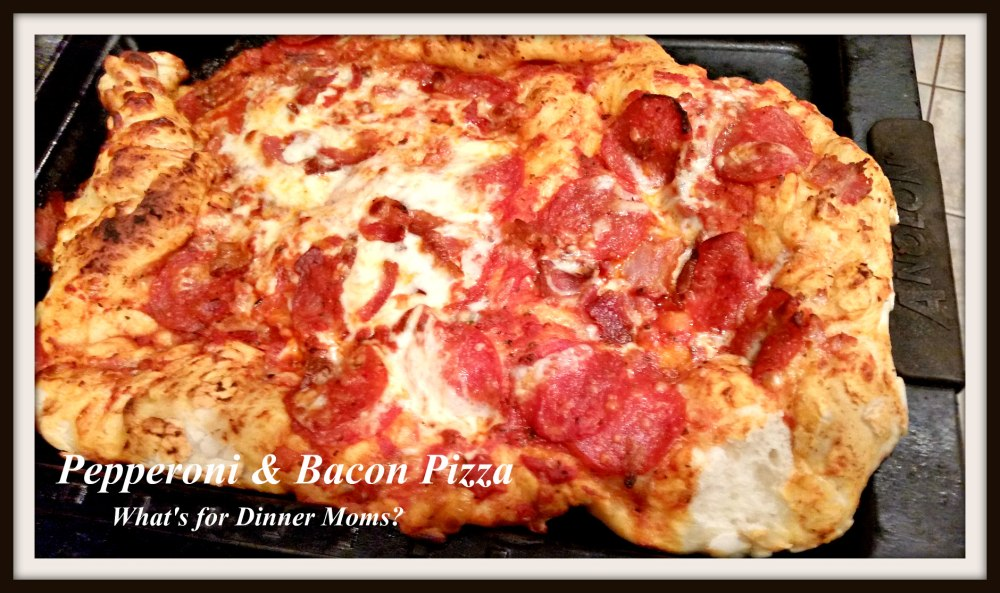 Pepperoni & Bacon Pizza (dropped)