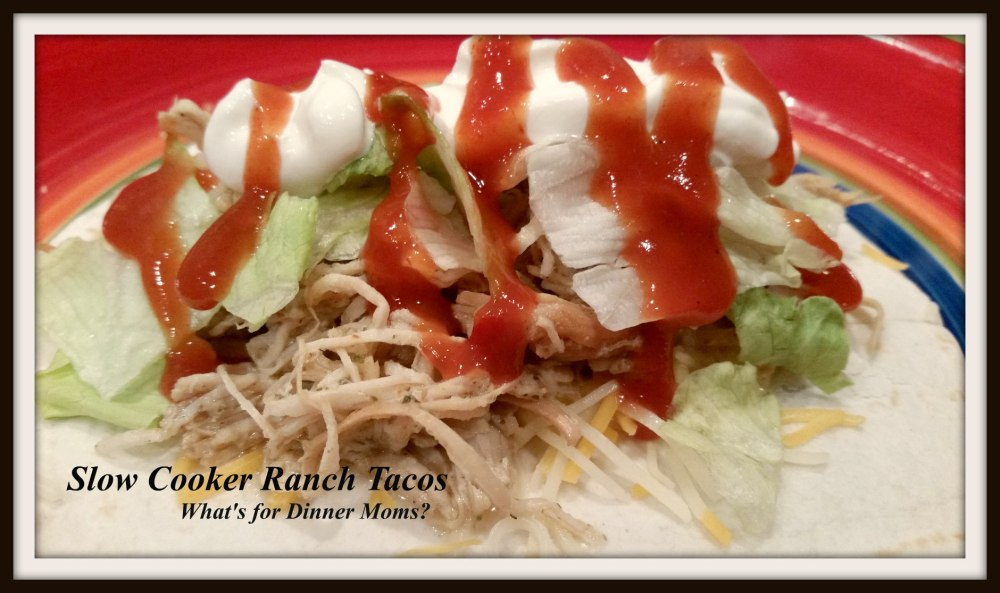 Slow Cooker Ranch Tacos