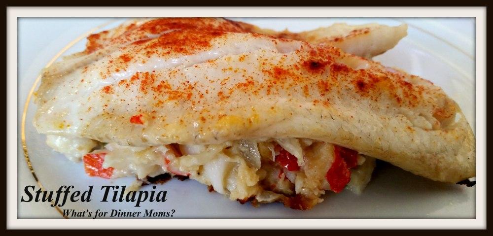 Stuffed Tilapia