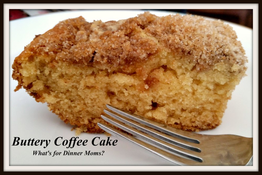 Buttery Coffee Cake