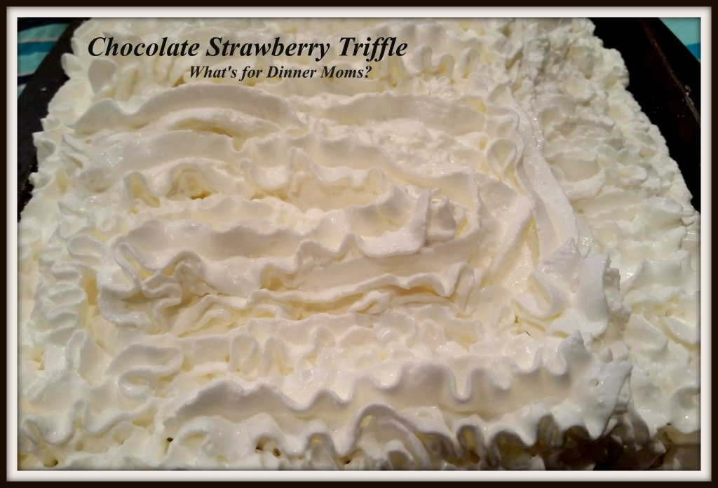 Chocolate Strawberry Triffle (1)