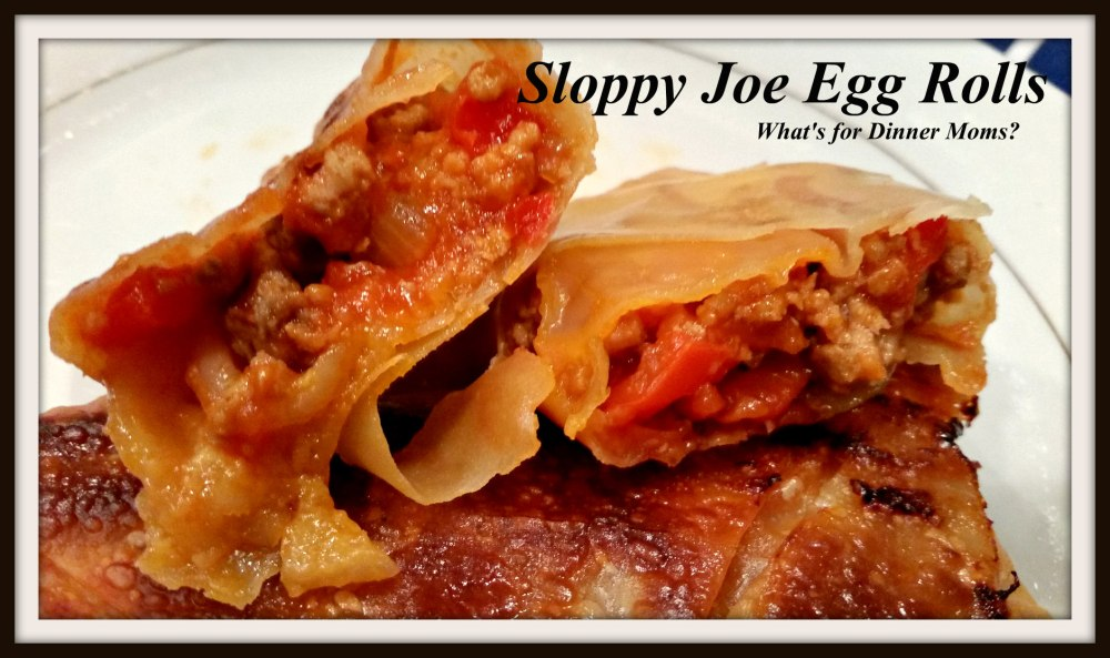 Sloppy Joe Egg Rolls (1)
