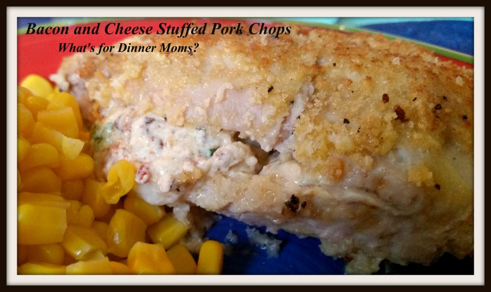 Bacon and Cheese Stuffed Pork Chops (2)