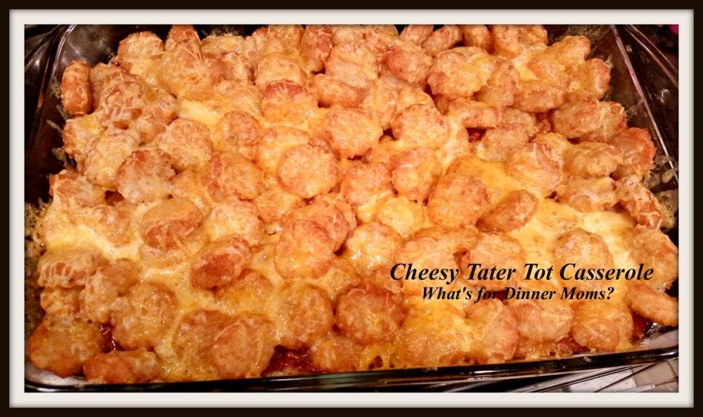 Cheesy Tater Tot Casserole (1)