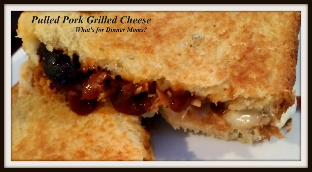 Pulled Pork Grilled Cheese