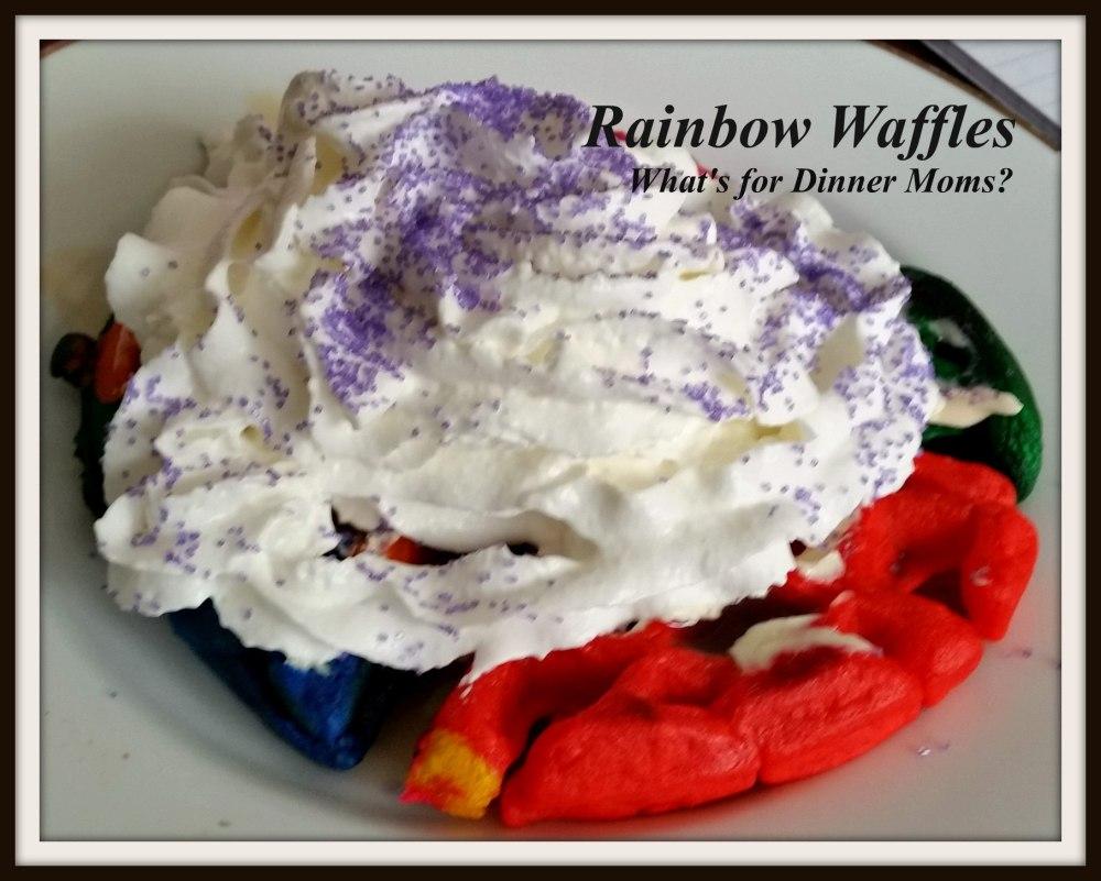 Rainbow Waffles (1)