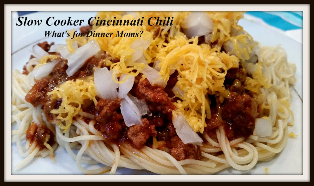 Slow Cooker Cincinnti Chili