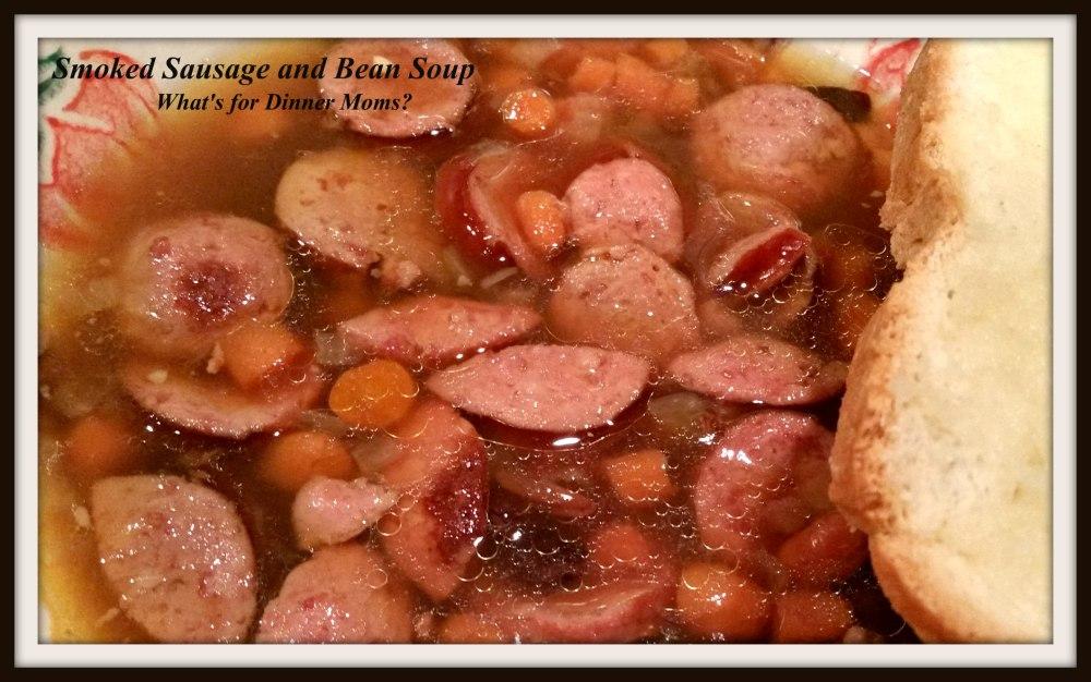 Smoked Sausage and Bean Soup