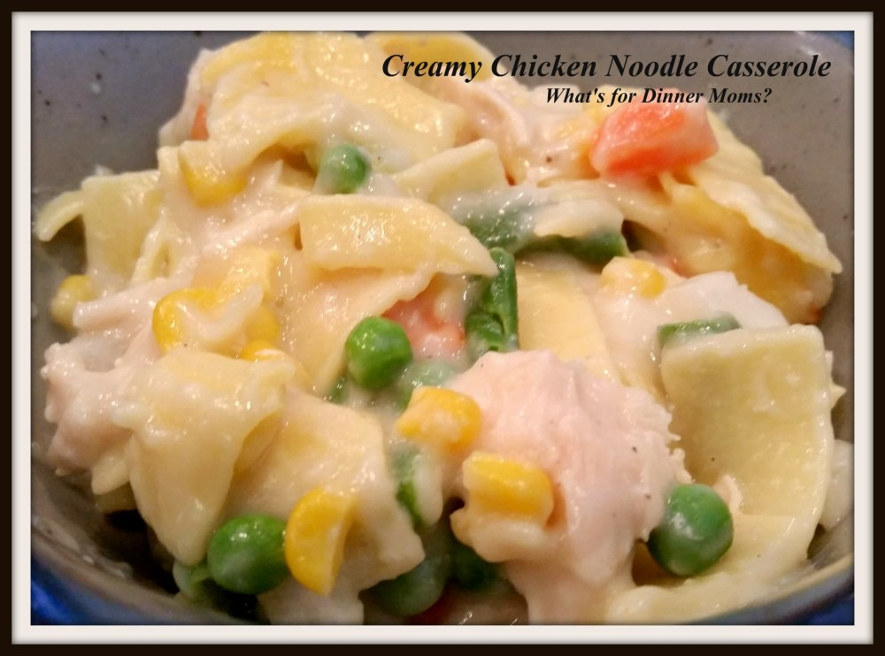 Creamy Chicken Noodle Casserole (no canned soups) 2