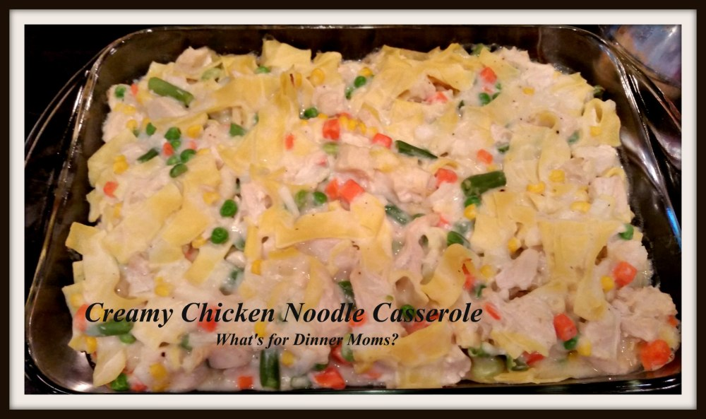 Creamy Chicken Noodle Casserole (no canned soups)