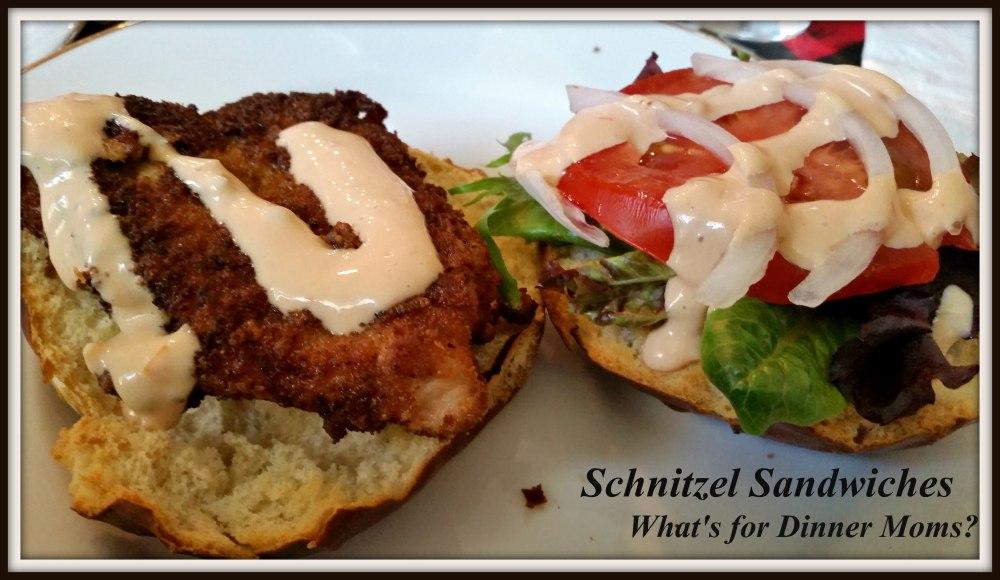 Schnitzel Sandwiches